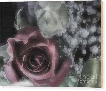 Wood Print featuring the photograph Feel My Breath by Janie Johnson