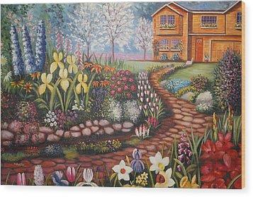 Feller's Dream Wood Print