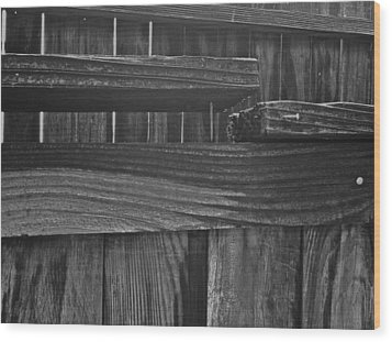 Wood Print featuring the photograph Fence To Nowhere by Bill Owen