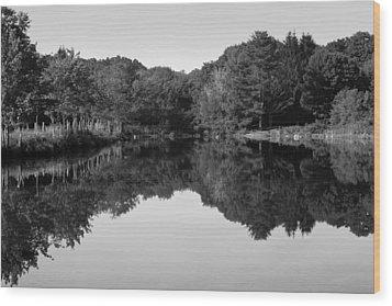 Fenns Pond Wood Print by Karol Livote