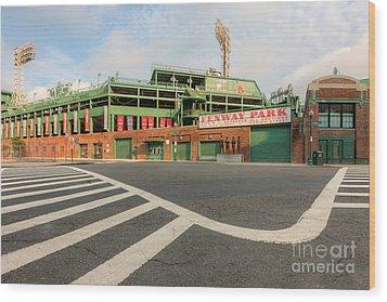 Fenway Park II Wood Print by Clarence Holmes