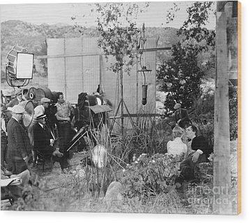 Film: Abraham Lincoln, 1930 Wood Print by Granger
