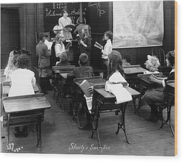 Film Still: Classroom Wood Print by Granger