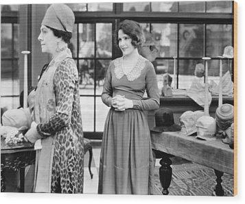 Film: Woman Disputed, 1928 Wood Print by Granger
