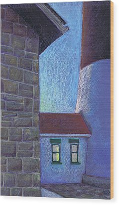 Fire Island Lighthouse Sunset Wood Print by Susan Herbst