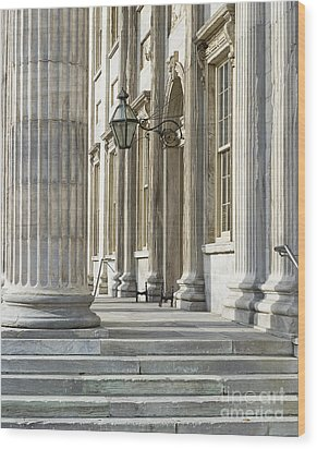 First Bank Of The United States Wood Print by John Greim