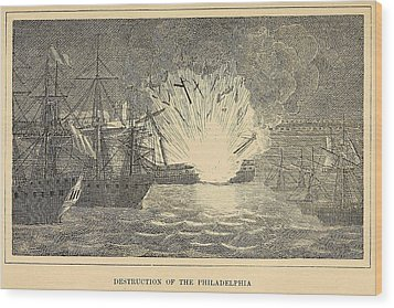First Barbary War 1801-1805 Wood Print by Everett