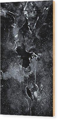 First Ice Wood Print