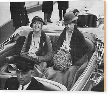 First Ladies Car At The 1933 Wood Print by Everett