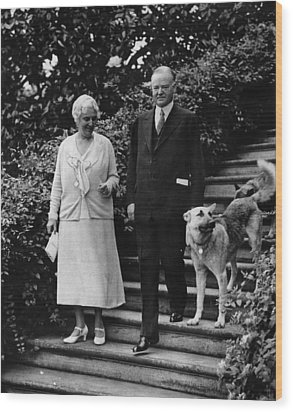 First Lady Lou Henry Hoover, President Wood Print by Everett