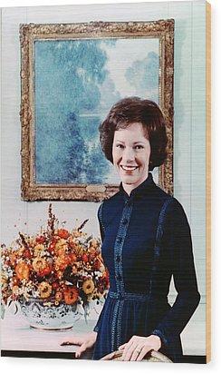 First Lady Rosalynn Carter  Official Wood Print by Everett