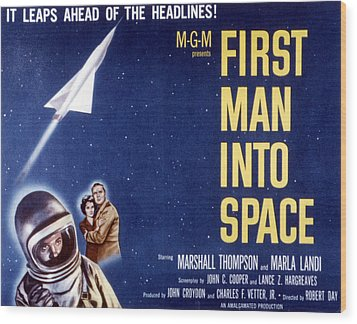 First Man Into Space, 1959 Wood Print by Everett