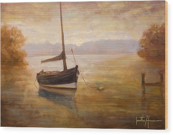 Fishing Boat Wood Print by Jonathan Howe