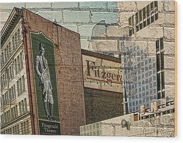 Fitzgerald Theater St. Paul Minnesota Wood Print by Susan Stone