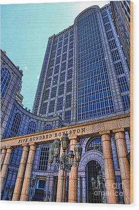 Five Hundred Boylston - Boston Architecture Wood Print