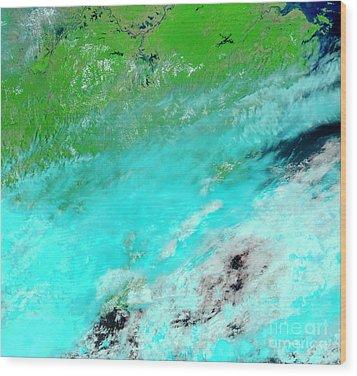 Floods In Jiangxi Province, China Wood Print by Nasa