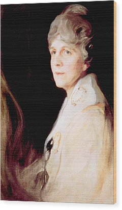 Florence Harding 1860-1924, First Lady Wood Print by Everett
