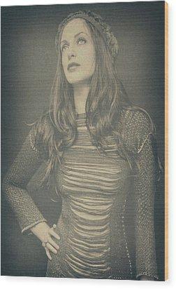 Florence  Wood Print by Pawel Piatek