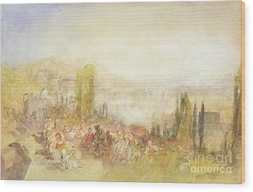 Florence Wood Print by Joseph Mallord William Turner