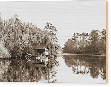 Wood Print featuring the photograph Florida by Shannon Harrington