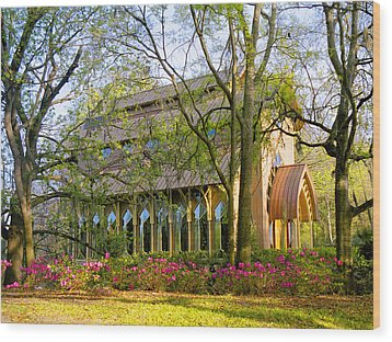 Florida The Baughman Center Wood Print by Russell Grace
