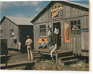 Florida: Workers, 1941 Wood Print by Granger