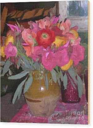 Flower Show 2006 Wood Print