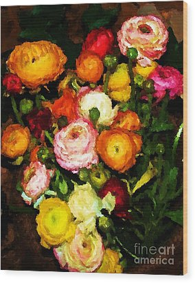 Flower Show 2009 Wood Print