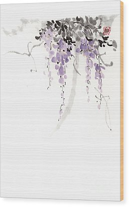 Flowers Wood Print by Japan collection