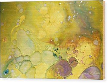 Fluidism Aspect 19 Photography Wood Print by Robert Kernodle