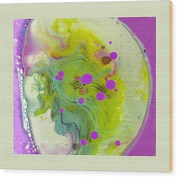 Fluidism Aspect 459 Frame Wood Print by Robert Kernodle