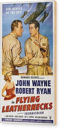 Flying Leathernecks, John Wayne, Robert Wood Print by Everett