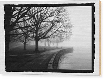 Foggy Day H-1 Wood Print by Mauro Celotti