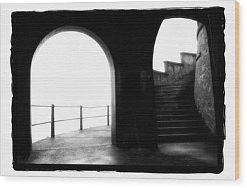 Foggy Day H-1b Wood Print by Mauro Celotti