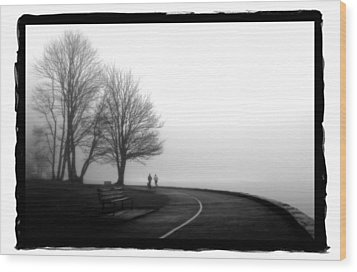 Foggy Day H-2 Wood Print by Mauro Celotti