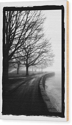 Foggy Day V-5 Wood Print by Mauro Celotti