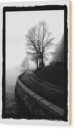 Foggy Day V-6 Wood Print by Mauro Celotti