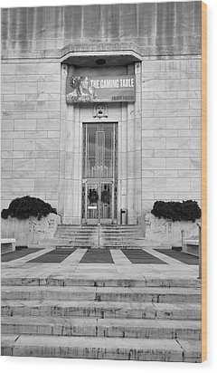 Folger Theatre I Wood Print by Steven Ainsworth