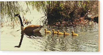 Follow Mom Wood Print