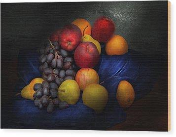 Food - Fruit - Fruit Still Life  Wood Print by Mike Savad