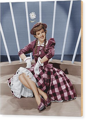 For Me And My Gal, Judy Garland, 1942 Wood Print by Everett