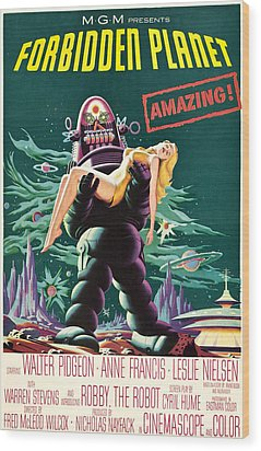 Forbidden Planet, Robby The Robot, Anne Wood Print by Everett