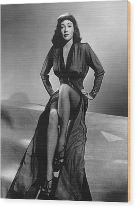 Force Of Evil, Marie Windsor, 1948 Wood Print by Everett