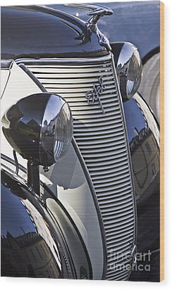 Ford Eifel Cabrio 1939 Classic Car Wood Print by Heiko Koehrer-Wagner
