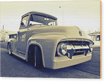 Ford Nostalgia Wood Print by Vorona Photography