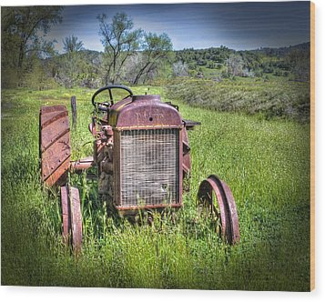 Wood Print featuring the photograph Fordson 1920 Tractor by William Havle