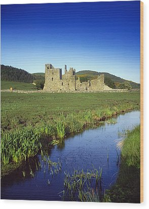 Fore Abbey, Co Westmeath, Ireland Wood Print by The Irish Image Collection