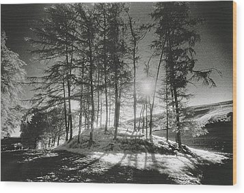 Forelacka Burial Ground Wood Print by Simon Marsden