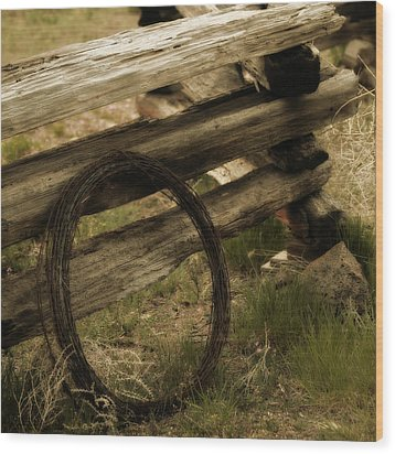 Forgotten Wood Print by Bonnie Bruno