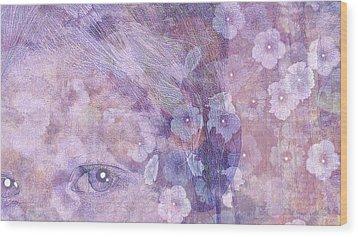 Forgotten Flowers Wood Print